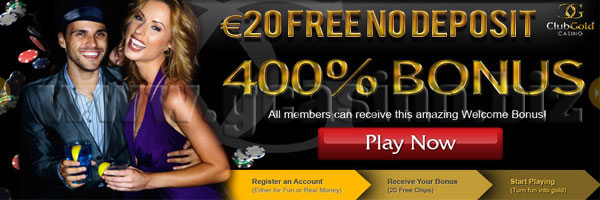 club gold online casino no deposit bonus
